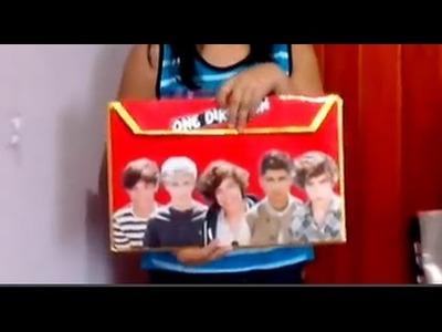 Manualidades de One Direction♥ Carpeta Directioner