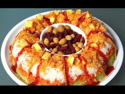 ROSCA DE CHAMOY (verduras y fruta)