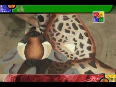 TALENTO ARTESANO SEGMENTO MANOS CREATIVAS ANIMAL PRINT JIRAFA