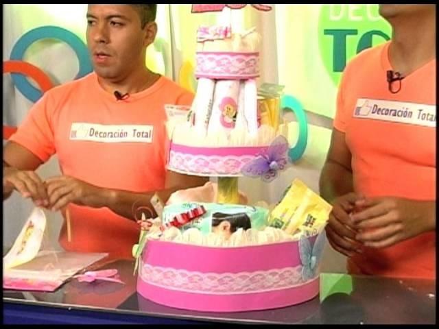 Torta de Pañales (Baby Shower) - P 27 -  parte 3.3