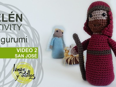 Tutorial Belén Amigurumi Part 2: San José (Nativity English Subtitles)