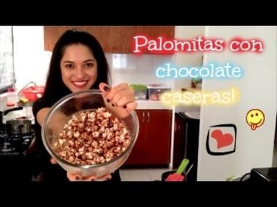 #CocinandoConSusie | PALOMITAS CON CHOCOLATE