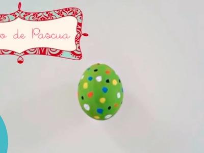 Cómo decorar un huevo de Pascua. Manualidades de Pascua.