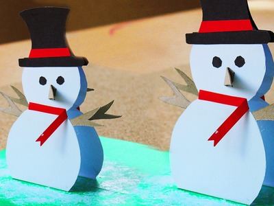 Como hacer Cartita navideña Pop Up #MiniTips