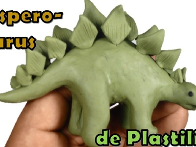 Como hacer un Hesperosaurus de plastilina