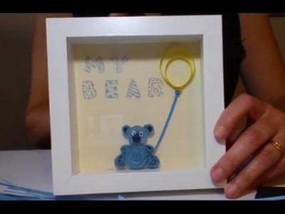Cómo hacer un oso de filigrana para decorar | facilisimo.com