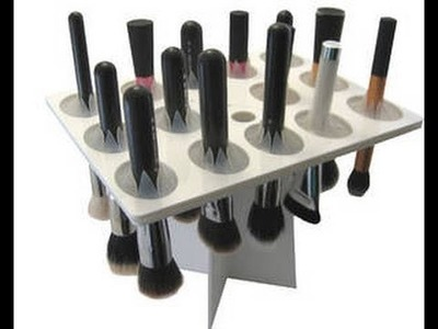 DIY.   Secador de brochas. Makeup brushes dryer