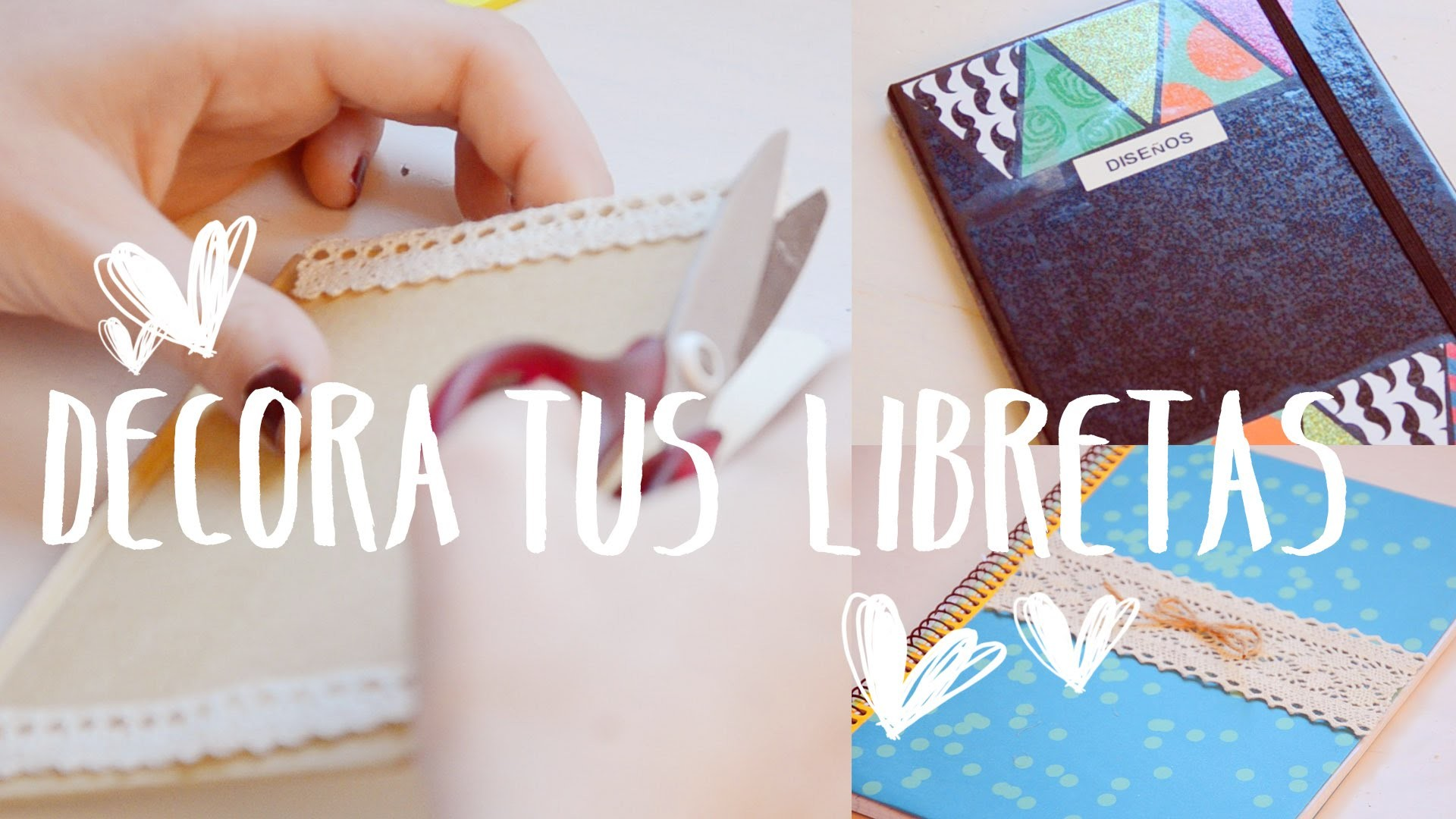 ♡ IDEAS PARA DECORAR TUS CUADERNOS ♡ | Ale90cb