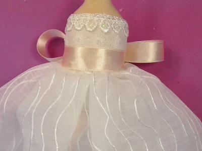 Muñeca de comunion,vestido 2.5, manualilolis, video- 73