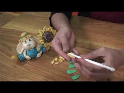 Tutorial de porcelanicron, Como Hacer un girasol