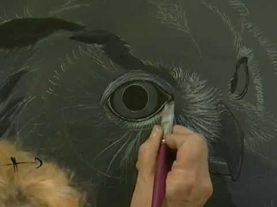 Cuadro Búho - Pintura en acrílico