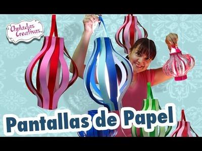 Chuladas Creativas :: Pantallas de Papel : Pantallas o lámparas Chinas :: Sammily