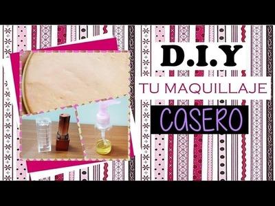 DIY Rubor, labial y desmaquillante | Mente de Mujer por Carolina HD