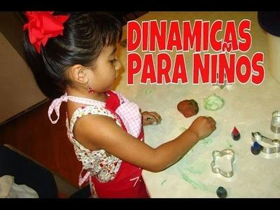 """IDEAS PARA JUGAR CON TUS NINOS """"DINAMICAS PARA NINOS""""- Recetas de Aleliamada."""