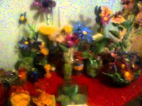 Arreglos Florales Hechos Con Botellas De PET