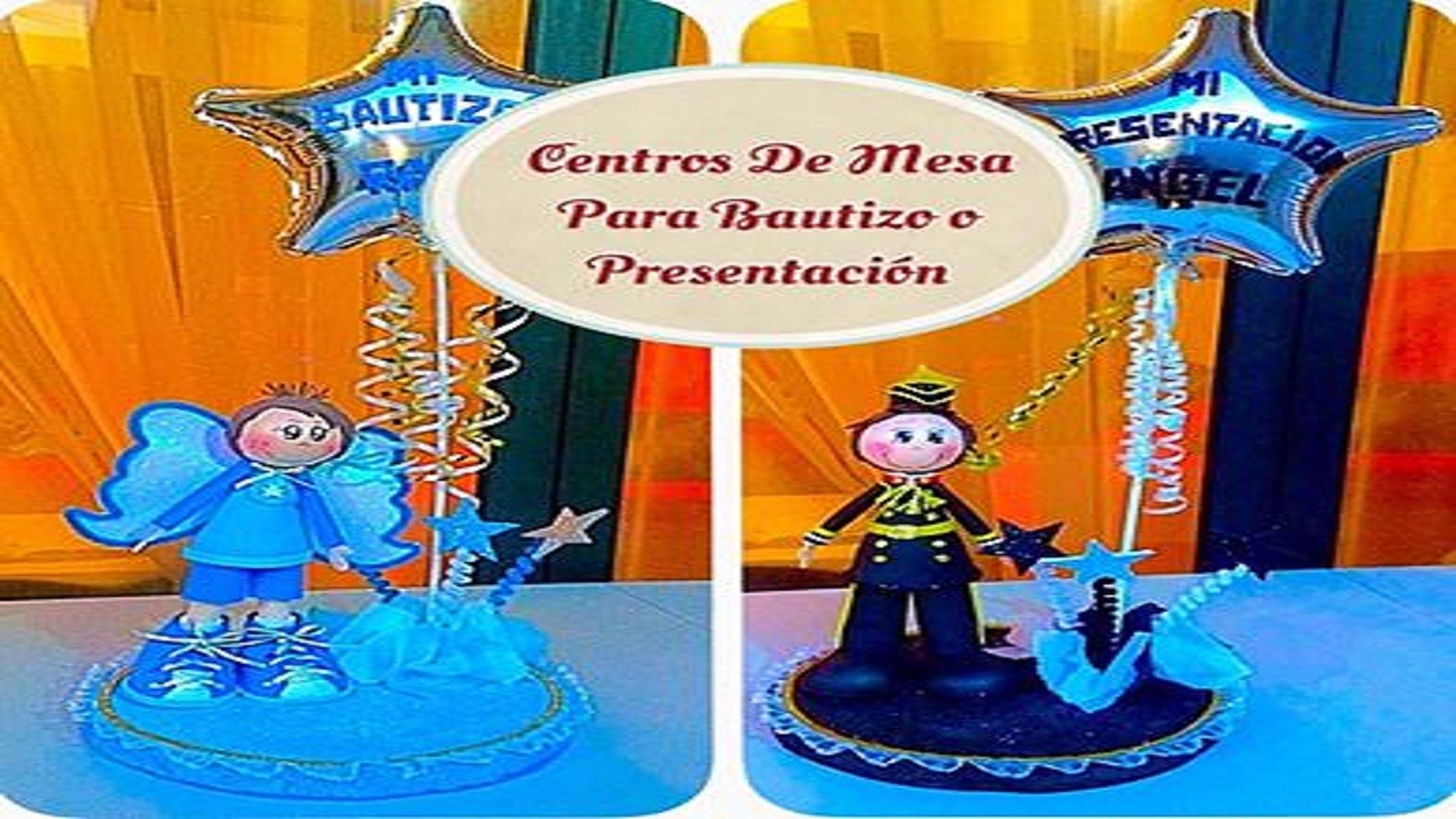 Centros De Mesa (( Bautizo y Presentación ))