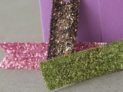 Cinta Glitter: para decorar tus manualidades