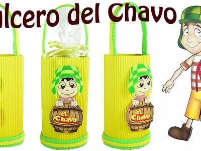Como hacer dulcero del  Chavo animado. El Mundo de MyG