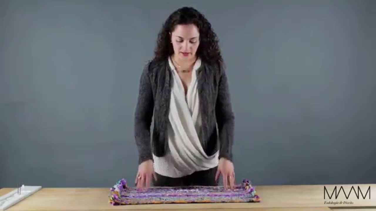 Cómo hacer fácilmente un tapete con retazos de tela