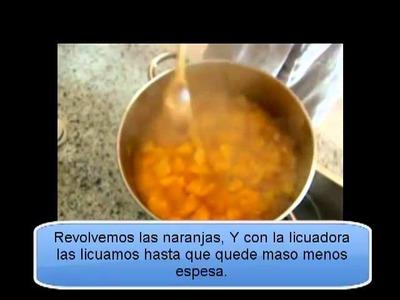 ¿Como hacer mermelada de naranja? Receta casera