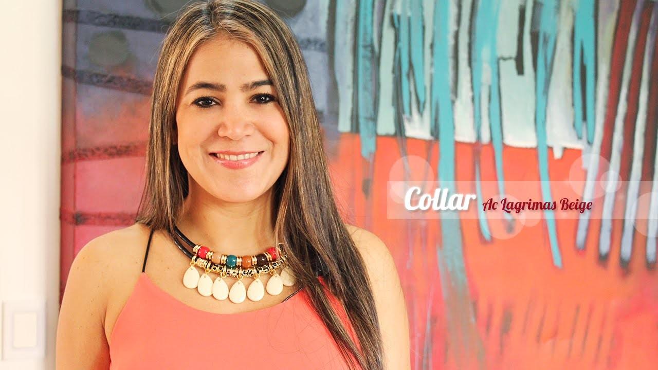 Como Hacer un Collar Estilo Egipcio Con Pendientes de Acrílico y Cuero Sintético