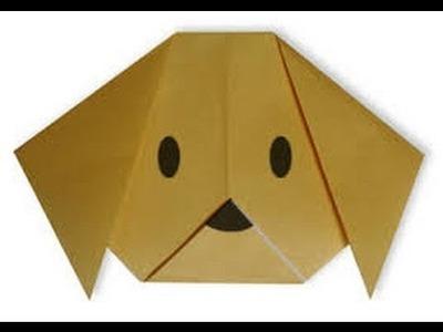 Como hacer un perro y un gato de papel ORIGAMI