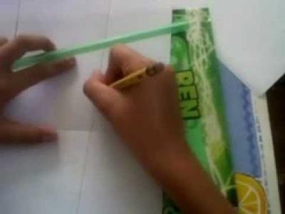 Como hacer una historieta o comic de papel a mano paso a paso