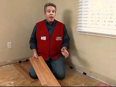 Cómo instalar pisos laminados en su hogar   Hágalo usted mismo