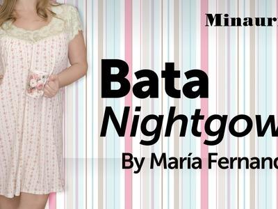 DIY - Bata para dormir - nightgown - camisola - camicia da notte