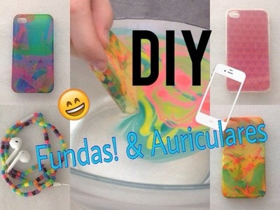 DIY: Personaliza tu funda! + Auriculares!!