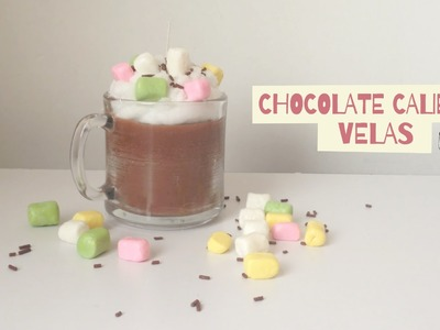 DIY: VELAS EN FORMA DE CHOCOLATE CALIENTE