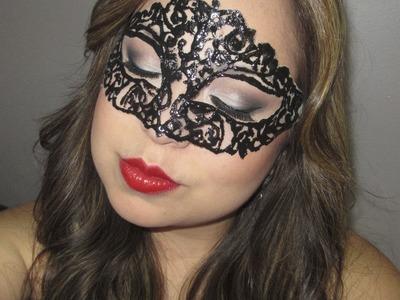 DYI: haz tu propio antifaz. Make your own masquerade
