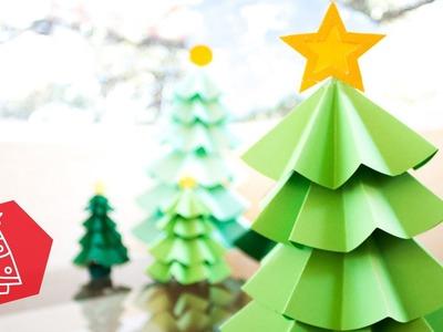 Navidad #1 - Árbol de Papel. BigCrafts