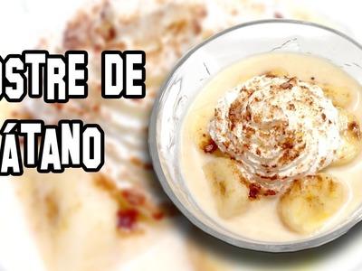 Postre de Plátano | Recetas de Cocina