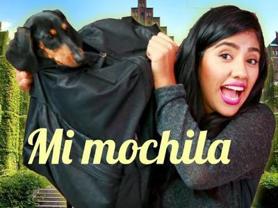 QUE HAY EN MI MOCHILA Y DIY REGRESO A CLASES | MUSAS KAREN LOS POLINESIOS