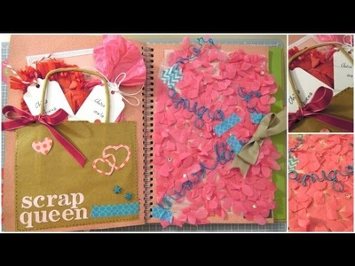 Smash Book Terapia: 6.06.13 *Cómo hacer un diario de Scrap* Smash book tutorial