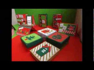 Tarjetas y cajas de Navidad
