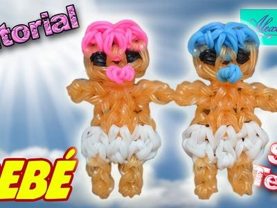 ♥ Tutorial: Bebé de gomitas (sin telar) ♥