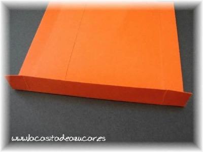 Tutorial como hacer bolsas de papel con sobres