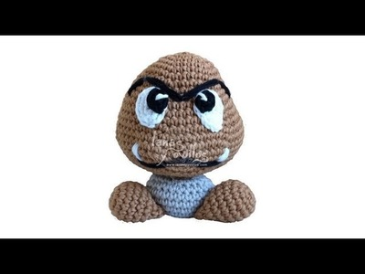 Tutorial Goomba Amigurumi (english subtitles)