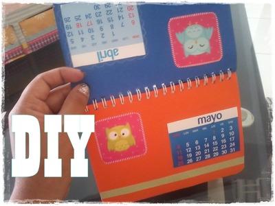 Haz tu calendario reciclando. Fácil