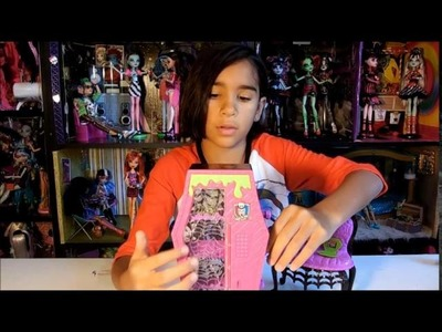 Review de Monster High Manster y Student Lounge - Mimundo MH