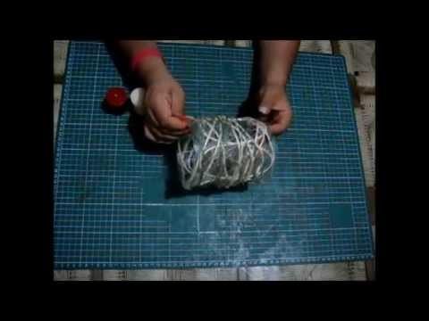 Pantalla para Vela (Pet, Hilo y Soga de Ixtle)