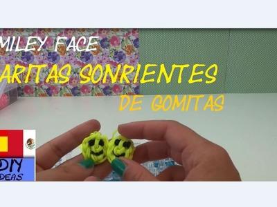 CÓMO HACER CARITAS FELICES - SONRIENTES CON GOMITAS - SMILEY HAPPY FACE - TUTORIAL EN ESPAÑOL - DIY