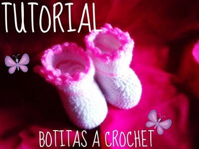 BOTITAS A CROCHET