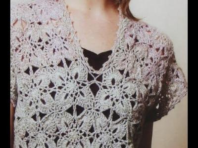 GRÁFICOS para tejer a crochet fácil