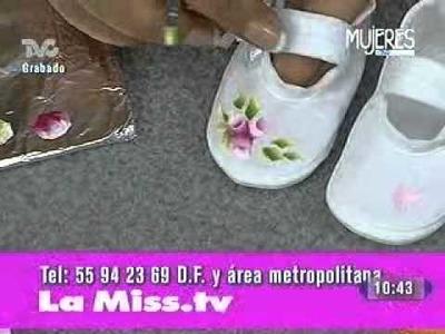 Cómo Decorar Zapatitos de Bebé (METVC)