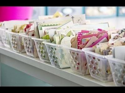 Tips: Cómo organizo mis papeles y suministros.