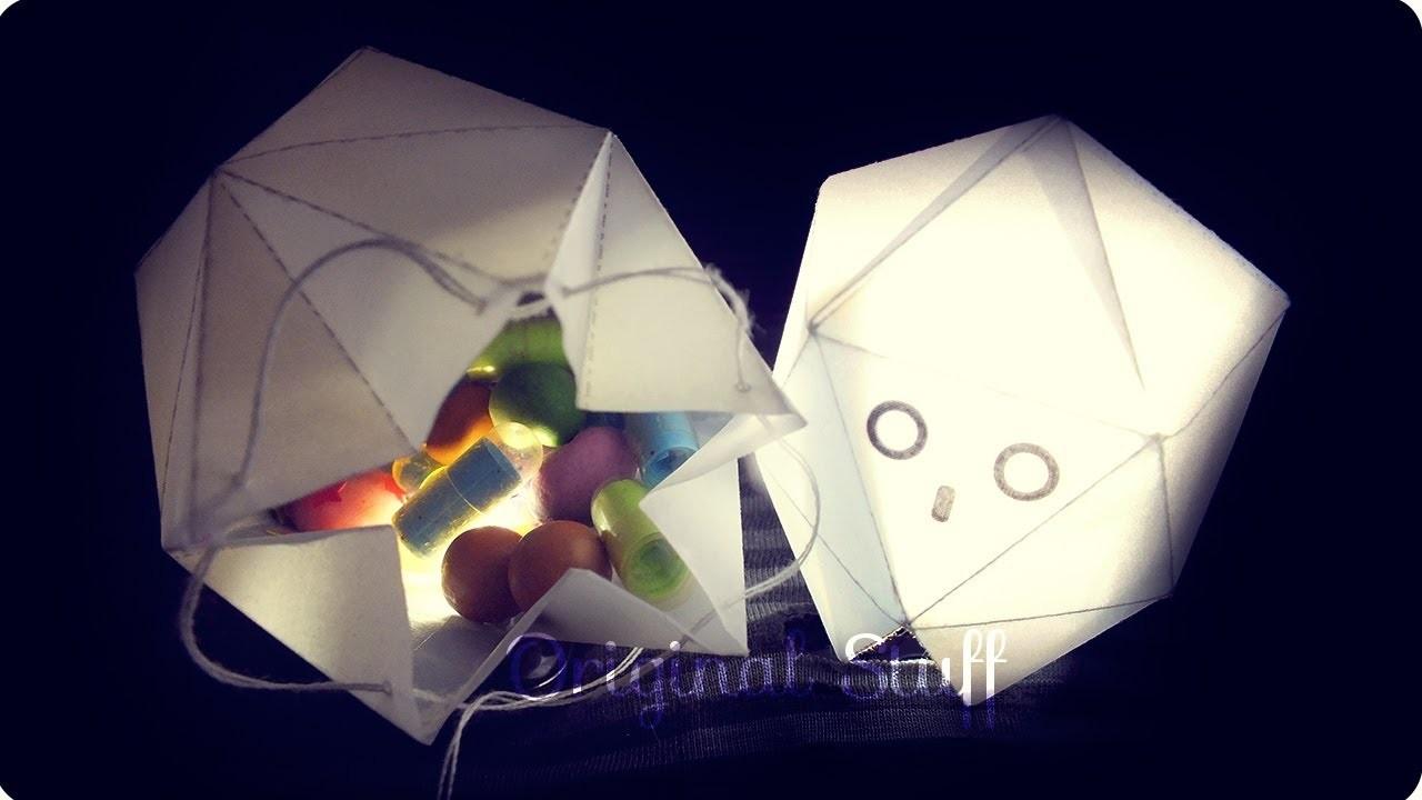 Caja de dulces. Lámpara - Fantasma [Halloween.Día de Muertos] - Original Stuff