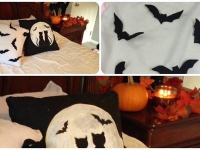 Como decorar el cuarto(habitación) con almohadas o cojines decorativos para halloween